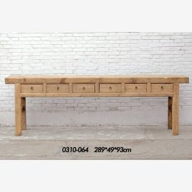 Sideboard from China made of first-class wood with clear line guidance
