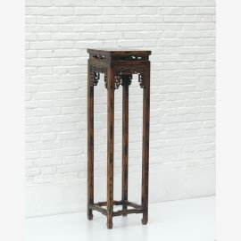 Chinese table made of fine wood with woodturning work