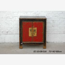 Solid wood chest of drawers from China with noble painting