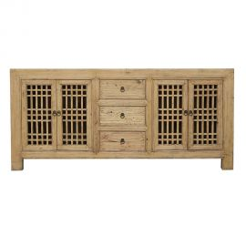 Chinese real wood sideboard with drawers and inserts