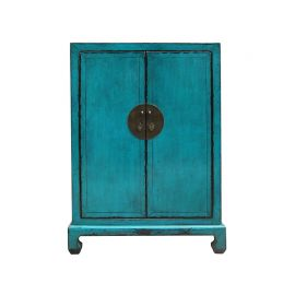 High quality cabinet from China in strong blue.