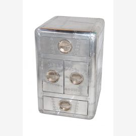NEW aluminum furniture bedside drawers aircraft recycling