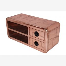 airplane ideal for flatscreen Lowboard sideboard copper