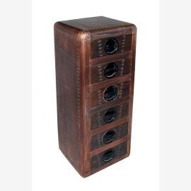 Dresser drawers tower airrange Furniture Copper