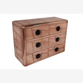 Dresser console airrange furniture copper in Aircraft Style