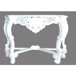 Table Solid wood baroque style gold furniture