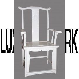 Chair China Solid Ivory White