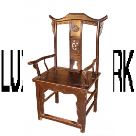 China chair pair orginal antique about 100 years old