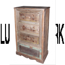 India Drawer cabinet antique about 80 years