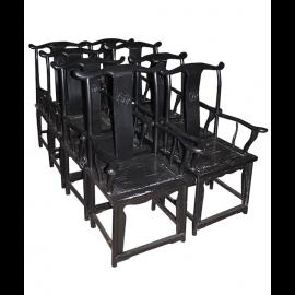 Original China 8 chairs from restaurant Liquidation
