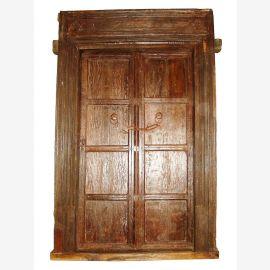 fernweh zum Anfassen herrliche indische Tür/Tor Rarität