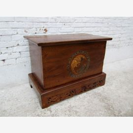 China shanxi 1890 classical style chest trunk box wood elm occasion ID SD.D.11