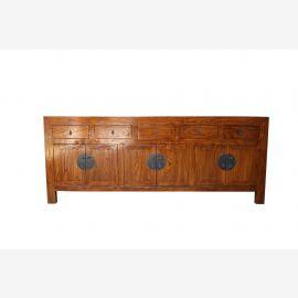 China Sideboard Shabby Chic Solid Wood Natural Wood