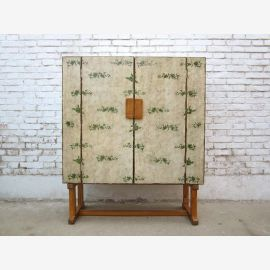 China ladies fancy dresser painted in delicate colors pine wood