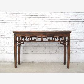 China wardrobe sideboard table carving classic colonial style 60J .