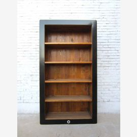 China big ( i shelf ) with lots of shelves and lacquered pine wood frame