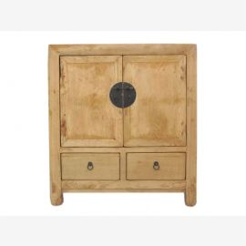 China before 1890 massive old chest of drawers dresser bright elm