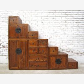 China ideal for attic stairs many natural brown dresser drawers pulled out both sides