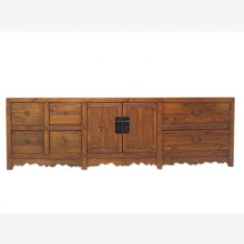 China Lowboard flat sideboard ideal for flat light pine wood