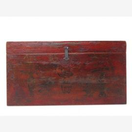 Mongolia 1880 Wedding Chest Chest extraordinary painting antique rarity