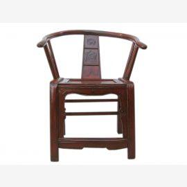 China Beijing 1910 wooden chair armchair grand massive elm