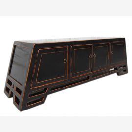 China wide Lowboard sideboard in classic black finish