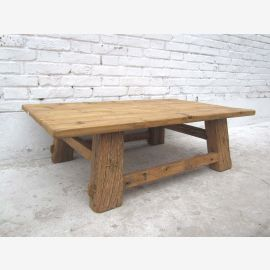 China colonial classic rustic table made ??of solid dark pine