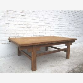 Shanxi China around 1890 traditional table made of solid pine wood