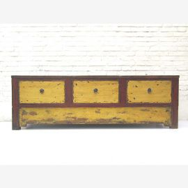 "China Mongolia 1890 shabby chic extra wide sideboard Sideboard for flat red yellow pine from ""Luxury-Park"""
