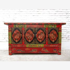 China Tibet 1930 wide dresser credenza sideboard in traditional rural rustic style of Luxury Park