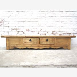China Shanxi 1890 country-style TV console Lowboard for wide flat screen flat screen elm of Luxury Park