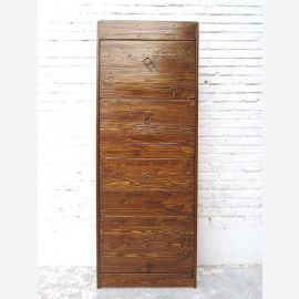 """China great shoe cabinet natural brown pine four large drawers and lateral thrusts by the bestsellers by """"Luxury-Park"""""""