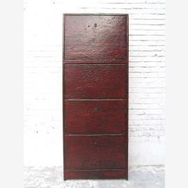"""China high shoe cabinet maroon paint Antic Look 4 large compartments by the bestsellers by """"Luxury-Park"""""""