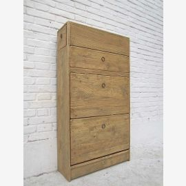 """China large shoe cupboard dresser drawers additional lateral massive pine wood color cottage style """"Luxury-Park"""""""