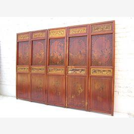 China paravent genuine antique 195w x5x143cm gift