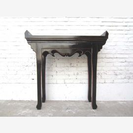 China small highboard Side antique black 1910 years pinewood