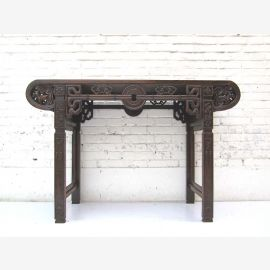 """China wardrobe sideboard table classic carving elm wood in colonial style from """"Luxury-Park"""""""