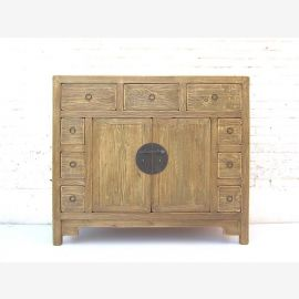 """China Country style simple small sideboard sideboard fine pine wood striking brass fittings from the """"Luxury-Park"""""""