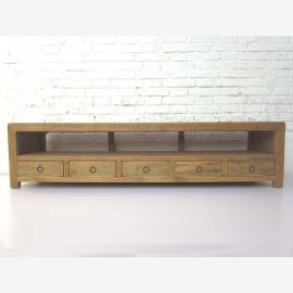 """China Lowboard wide light brown dresser for TV Flatscreen solid pine country style by """"Luxury-Park"""""""