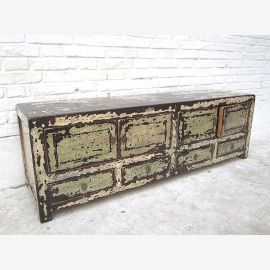 "China Shabby Chic Sideboard Sideboard flat for flat screen TV four doors and drawers pine ""Luxury-Park"""