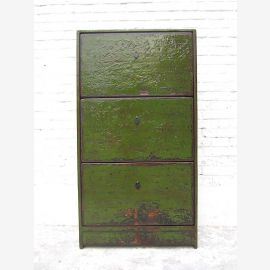 """Central China shoe cabinet english green paint three subjects traces Shabby chic by """"Luxury-Park"""""""