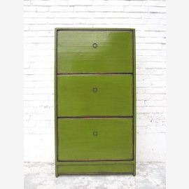 """Mean Shoe cabinet painting grass green shabby chic three large compartments by the bestseller from China by """"Luxury-Park"""""""