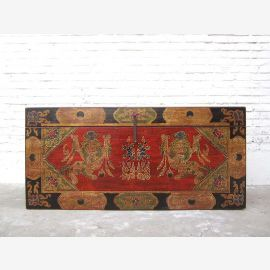 China Tibet Traditional chest fantastic painting about 1930 years Pinie