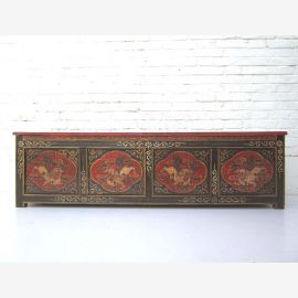 """China Tibet antique 1930 Bench Lowboard flat chest sideboard ideal for flat panel pine wood from """"Luxury-Park"""""""