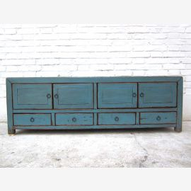 China TV Lowboard azure vintagestyle 140x38x45cm