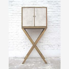 China shabby bar cabinet. Simple yet extraordinary to look at.