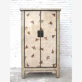 "China individual semi-high cabinet Butterfly Cabinet noble pine wood brass fitting by ""Luxury-Park"""