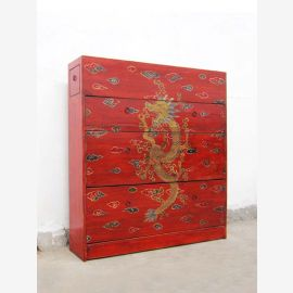 """Man-height shoe cabinet antique green paint shabby chic look 4 large compartments by China Bestsellers from """"Luxury-Park"""""""