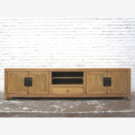 China wide TV Lowboard dresser country-style bright pine