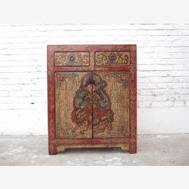 Chest Tibet antique painting only by  Luxury Park
